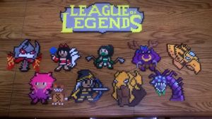 League of Legends Bead Art Pt 2 by LivingDeadProduction