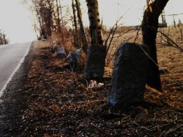 boundary stones by MichaelQue