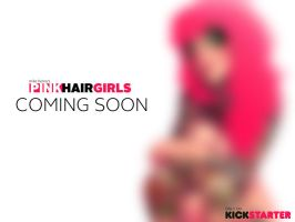 PINK HAIR GIRLS Kickstarter... Coming soon! by Zatransis