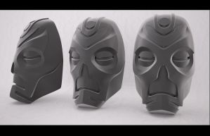 Skyrim Dragon Priest Mask Complete by Jay-Michael-Lee