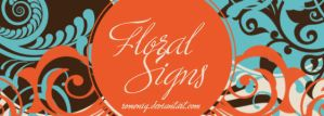 Floral Signs II brushes by Romenig