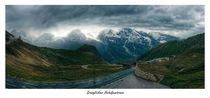 High alpine road by penner2000