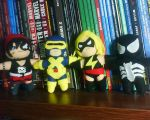 superheroes plush dolls by orco05