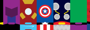 Marvel Heroes Phone Background by UrLogicFails