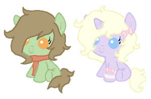 Draw to Adopt Ponies - Winners by PonyPartyAdopts