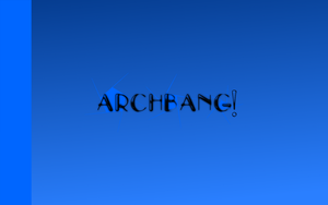 random arch bang wallpaper by Sgtconker1r