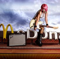 McDonalds by CindysArt