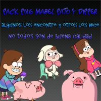 pack png mabel pato y dipper by ByLiz