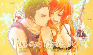 Zoro and Nami Signature by 0StarLights0