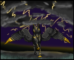 The Crack of Thunder by DasMinty