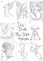 Daily Doodle 2014 - May Highlights by Electrical-Socket