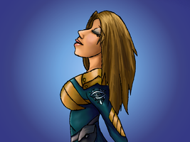 finished Brixa picture by littlegoblet