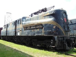 PRR GG1 4919 in Roanoke by rlkitterman