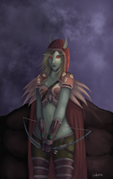Sylvanas Windrunner by Cindershine