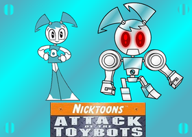 JENNY XJ9 AND XJ9BOT by mayozilla