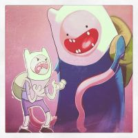 Adventure Time collab from JoGeeTV by joverine