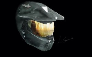 Master Chief - Digital Drawing by xX-Convex-Xx