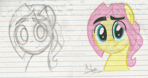 Butterscotch before- after. by Acuario1602