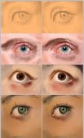 Eyes - how to correct errors and make them pop by BlackDelphin