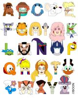 Child of the 80s Alphabet by mbaboon