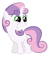 Sweetie Belle Trace 1 by shadowdark3