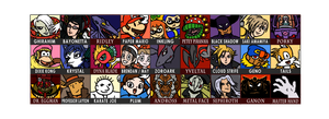 My Super Smash Bros 5 Newcomers by The-Quill-Warrior