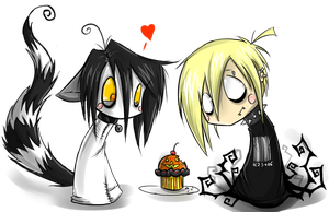 chibi riku and Matt cupcakes by Corpse-boy