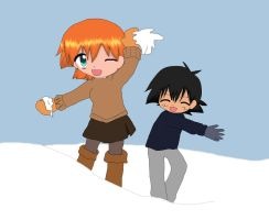 Snowfight by samyhedgehog654