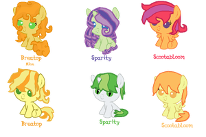 Fanfoal adopts by asdflove