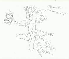 Observe the Power of Fire - Theme 120 by Forgotten-remnant