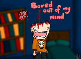 Board out of my mind by Meatball-man