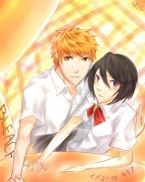 IchiRuki by melrw22