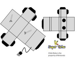 Chibi-Robo Paper Craft by Super-Pichu