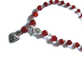 Carnelian Necklace by vaoni