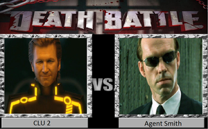 CLU 2 vs. Agent Smith by NPMahoney