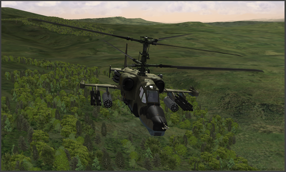 KA-50 Blackshark by bobcatt