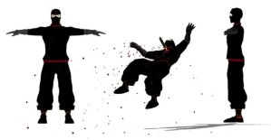 ninja down by YoulDesign