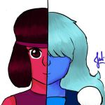 Ruby and Sapphire by HelloOstrich