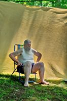 2015-06-10 Beach Chair Poses 44 by skydancer-stock
