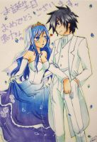 Gray x Juvia Wedding by Namida-no-Shinju