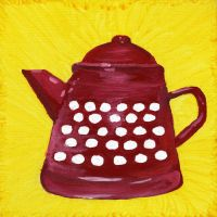 The Polka Dotted Tea Pot by BeautifulNightmare66