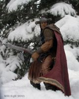 Young Conan in the snow by SurfTiki