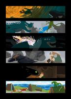 How to Train Your Dragon Colour Script by DannyP514