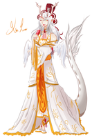 The White Longma by Aoiome