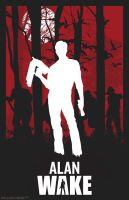 Alan Wake poster by billpyle