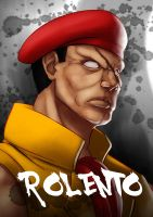Ultra Street Fighter 4 - Rolento by koyote974