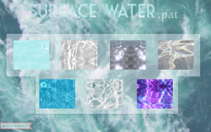Surface water patterns by Innuend