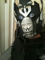 Ironhide helmet final stage by CHarrisPhotography