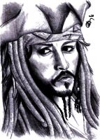 jack sparrow by Twisted-June