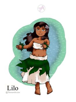 Disney Girl Challenge 24: Lilo by ThemawtArcsion
